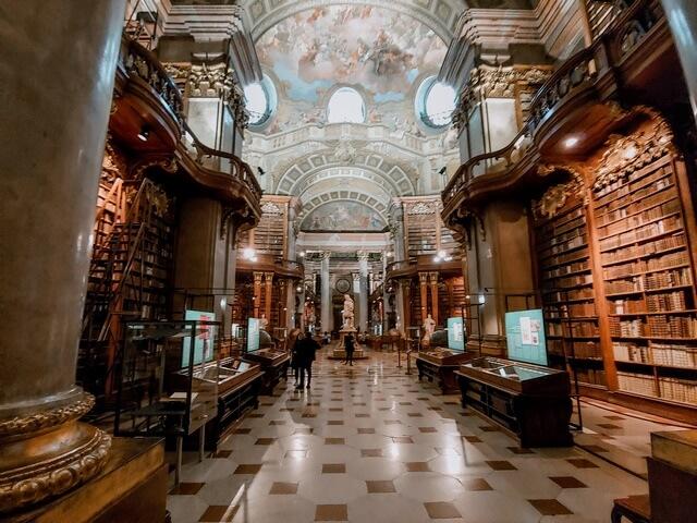 Sala imperial Biblioteca Nacional Austriaca