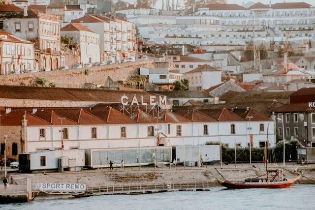 Bodegas Oporto en Vilanova de Gaia