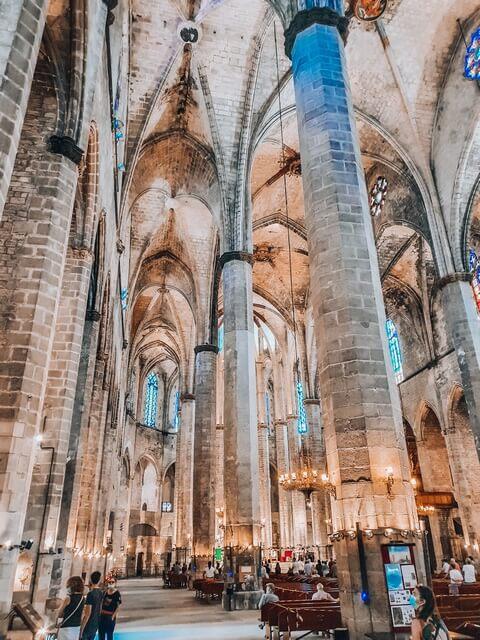 Interior Catedral del Ma