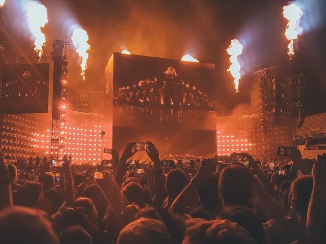 Concierto Beyonce en Montjuic 2016