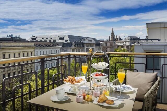 Hilton Vienna Plaza. Hoteles con encanto en Viena