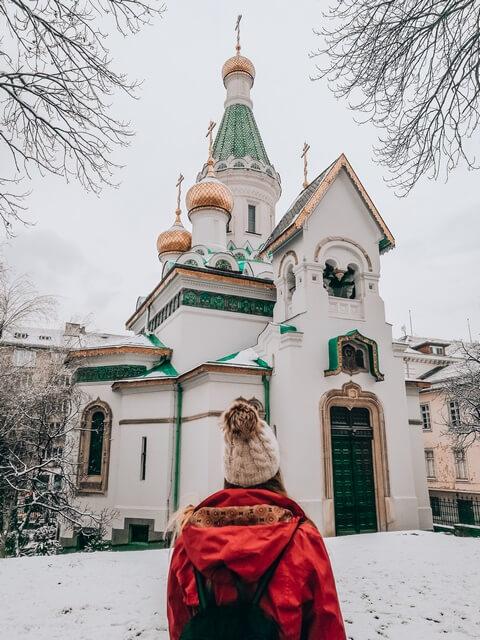 Iglesia Rusa de San Nicolás que ver en Sofia Bulgaria
