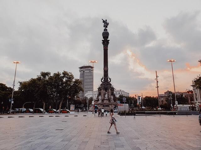 Estatua Colon Barcelona