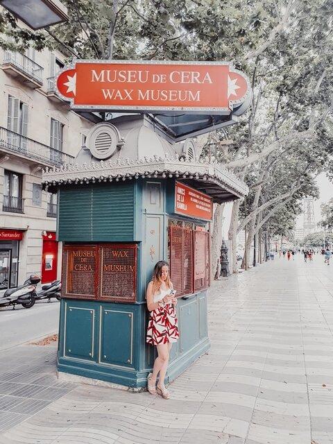 Las Ramblas Barcelona Museo de Cera entradas