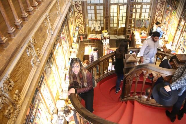 Libreria Lello Qué ver en Oporto en 2 dias