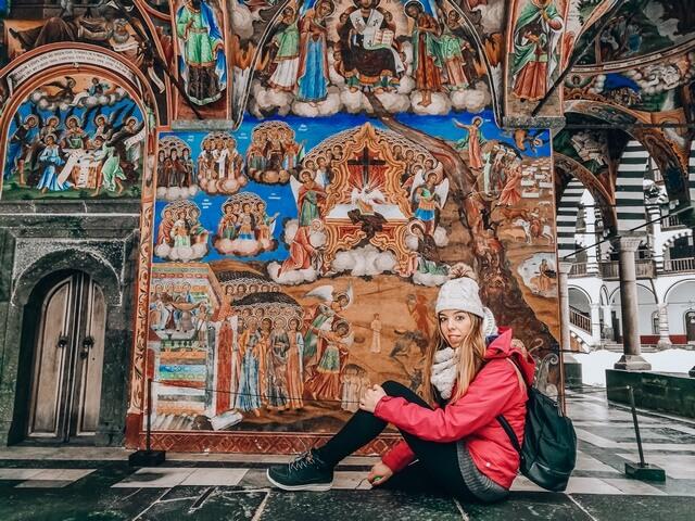 Monasterio de Rila cerca de Sofia