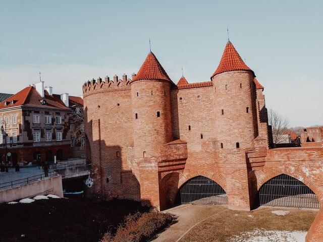 Murallas medievales de Varsovia