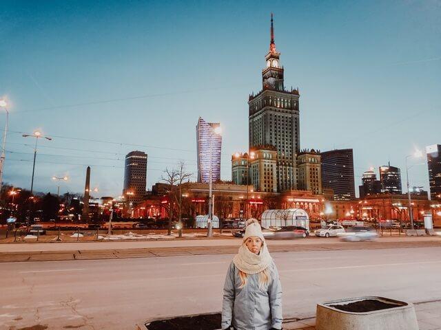 Palacio de la Cultura y la Ciencia Varsovia