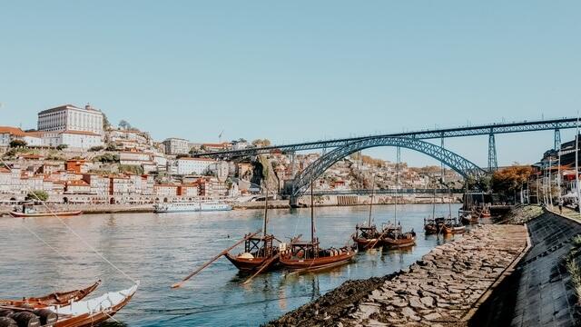 Puente Don Luis I Oporto