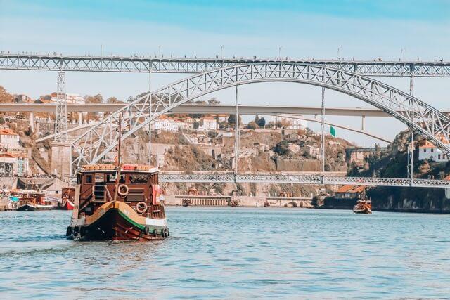 Puente Luis I Crucero de los 6 puentes Oporto