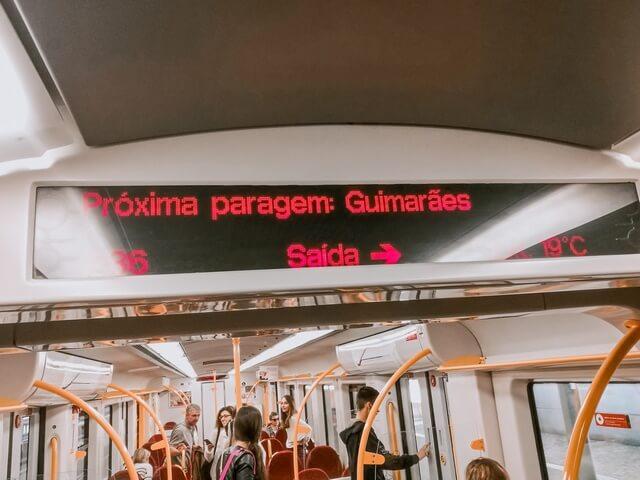 Tren Oporto a Guimaraes