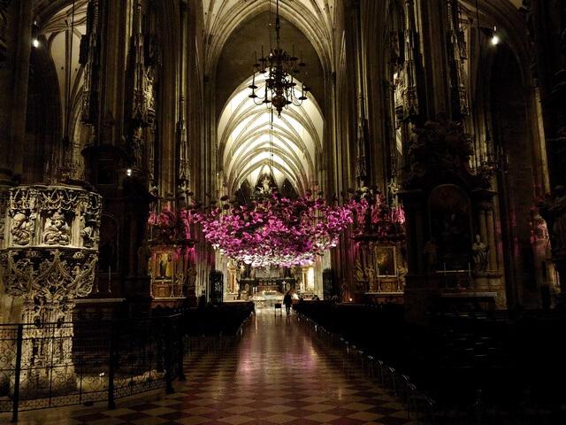Interior Catedral de San Esteban Viena