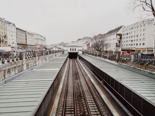 Vienna City Card. Trajeta transporte Viena