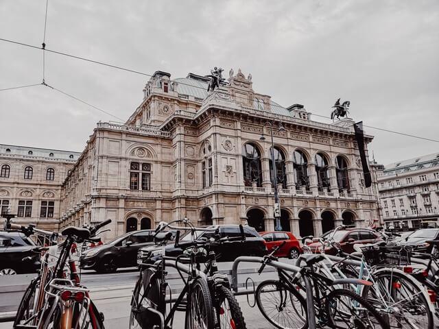 Edificio Ópera de Viena