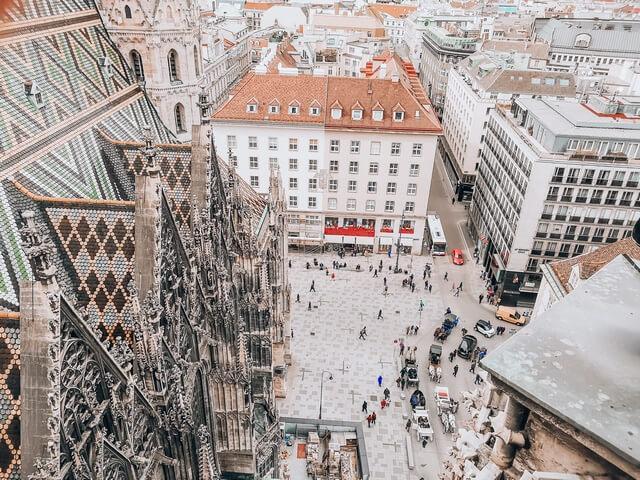 vistas Catedral de San Esteban Viena