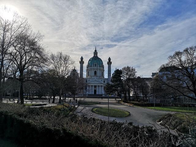 Iglesia de San Carlos Borromeo Viena