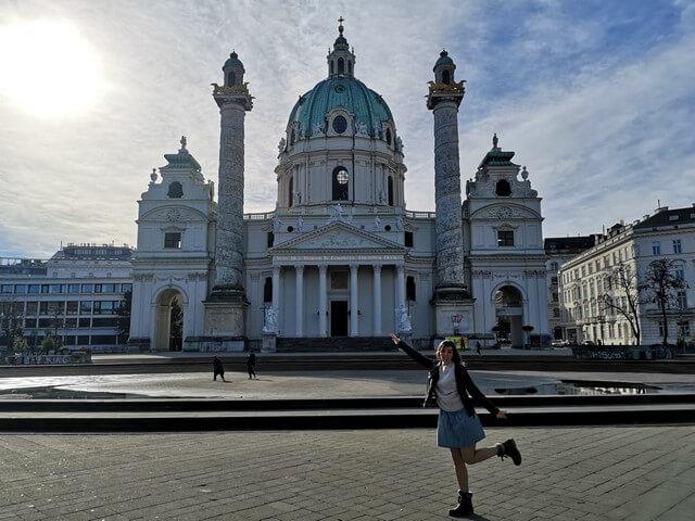 Iglesias de Viena.