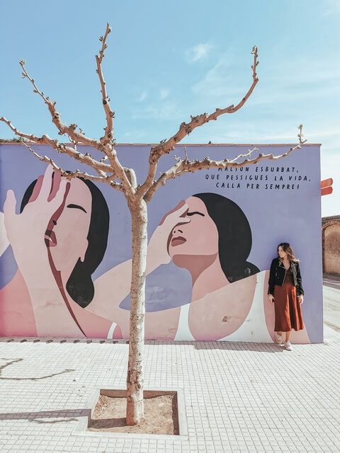 Mural Castello d'Empuries