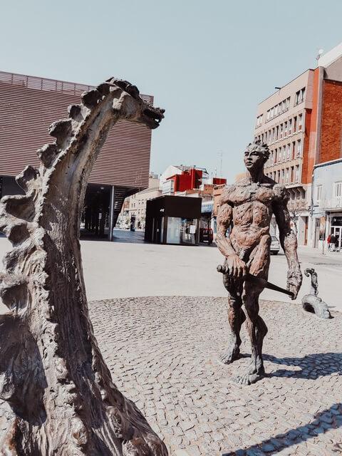 Plaça Catalunya Figueres