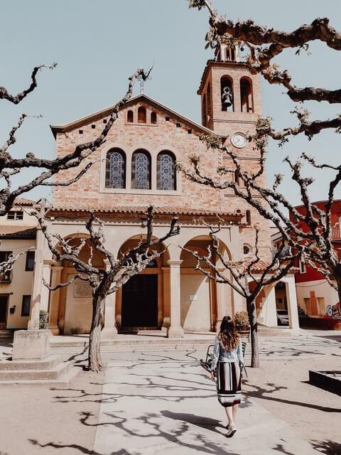 Iglesia Penelles. La iglesia Nueva de Sant Joan Baptista de Penelles.