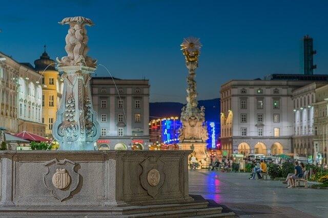 Linz Austria cerca de viena