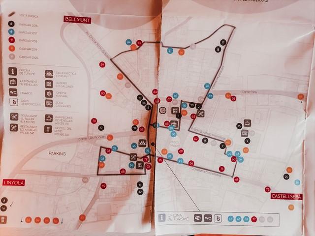 Mapa Murales Penelles