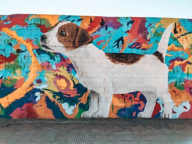 Mural Perro Penelles