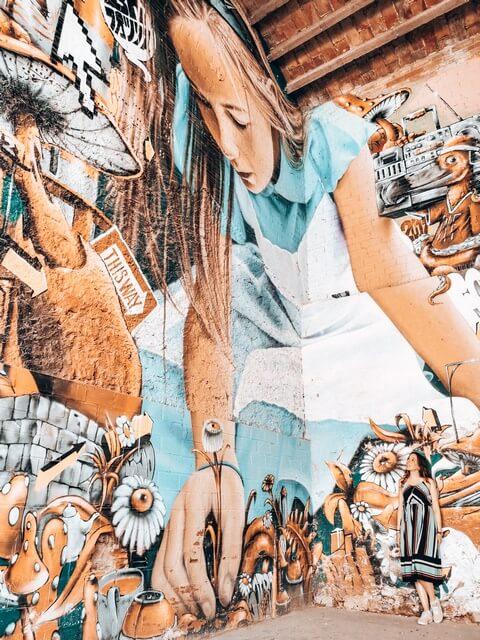 Penelles el pueblo de murales y graffitis de Lleida