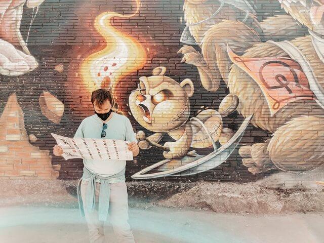 Mapa murales Penelles lleida