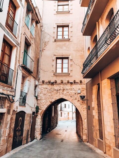 Paseo por el casco antiguo de Tortosa