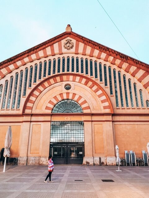 Mercado municipal en Tortosa