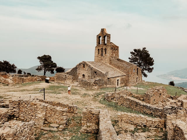 Pueblo de la Santa Creu de Rodes