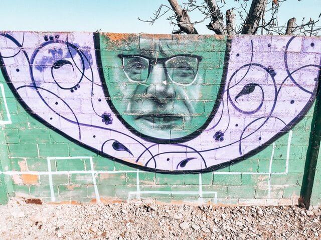 Mural afueras Penelles