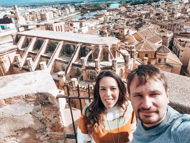 Vistas desde el Castillo de la Zuda