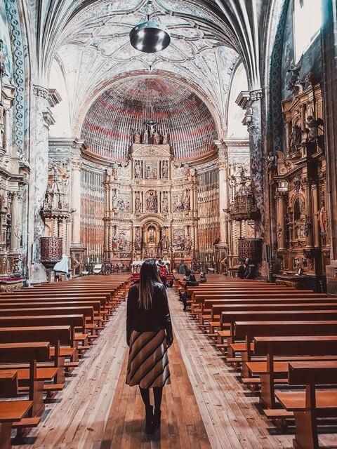 Interior Iglesia de San Andrés Elciego Alava