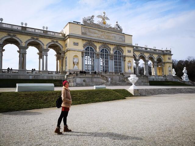 Palacio Schonbrunn Viena. la Glorieta