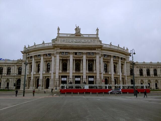 Ringstrasse Viena Hofburgtheater