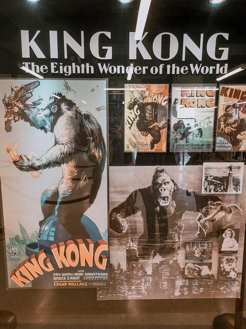 Poster de la película King Kong en el Empire