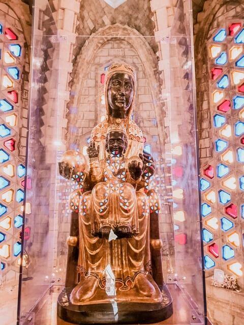 Verge de Montserrat en Montferri