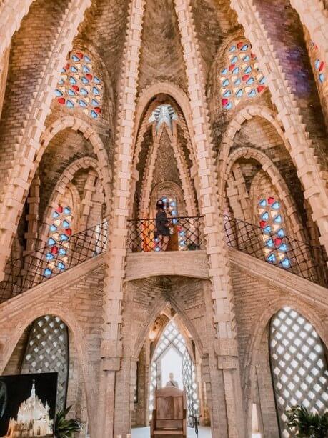Interior Santuario Montferri