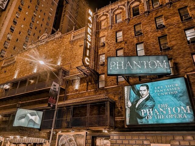 Fantasma de la Opera en Broadway