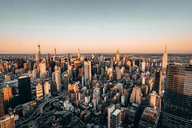 Vistas desde The Edge Nueva York