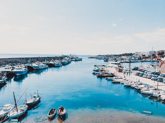 Puerto pesquero de L'Ametlla de Mar, Tarragona