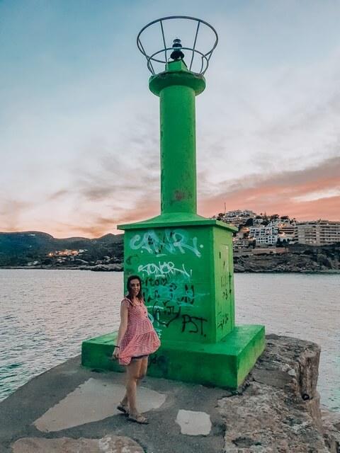Faro verde Peñiscola