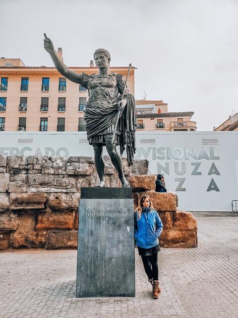 Estatua Cesar Augusto