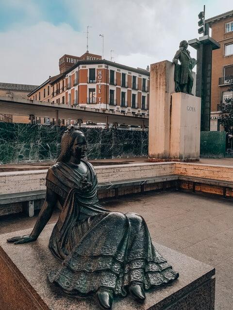 Estatua Goya