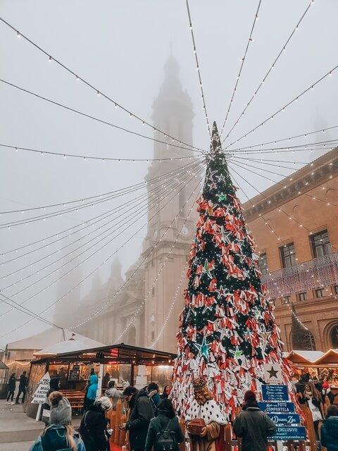 Mercadillo Plaza Pilar Zaragoza