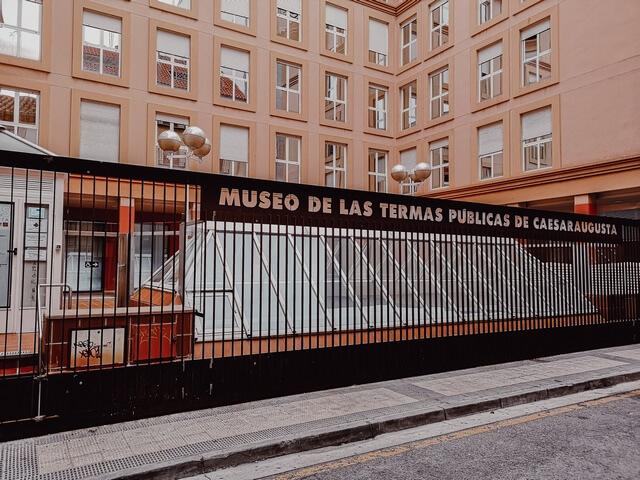 Museo Termas Publicas de Zaragoza