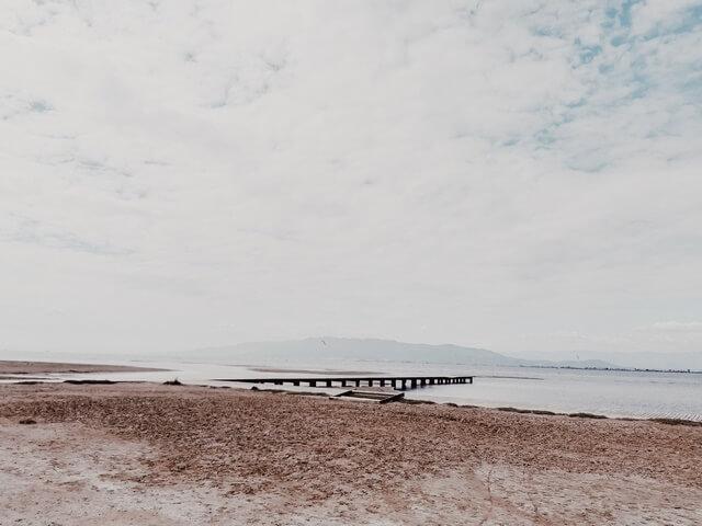 Playa Trabucador delta del ebro